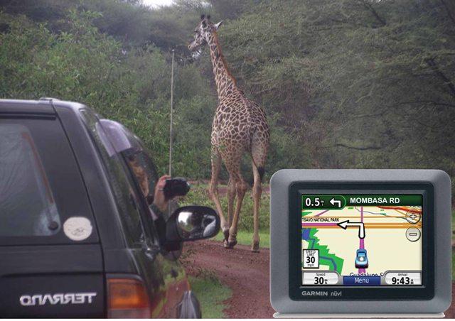 Vehicle satellite navigation device